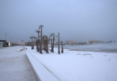 Javea Snow January 2017
