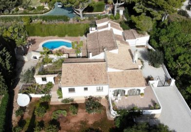 Exceptional 6 Bed Finca Style Villa On Montgo Javea